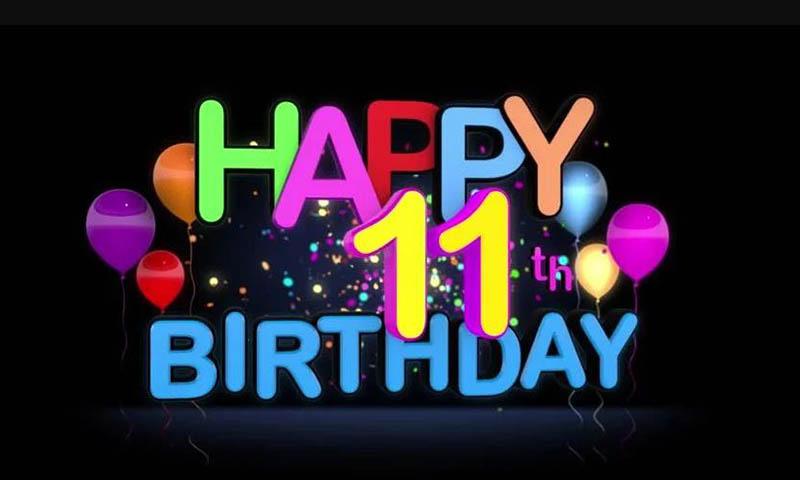 Happy 11th Birthday Images - 15