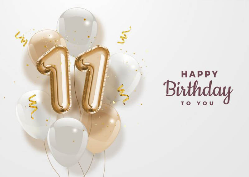 Happy 11th Birthday Images - 18