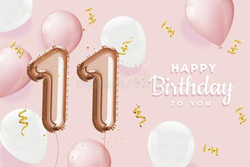 Happy 11th Birthday Images - 20
