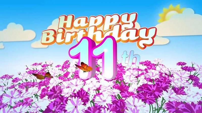Happy 11th Birthday Images - 4