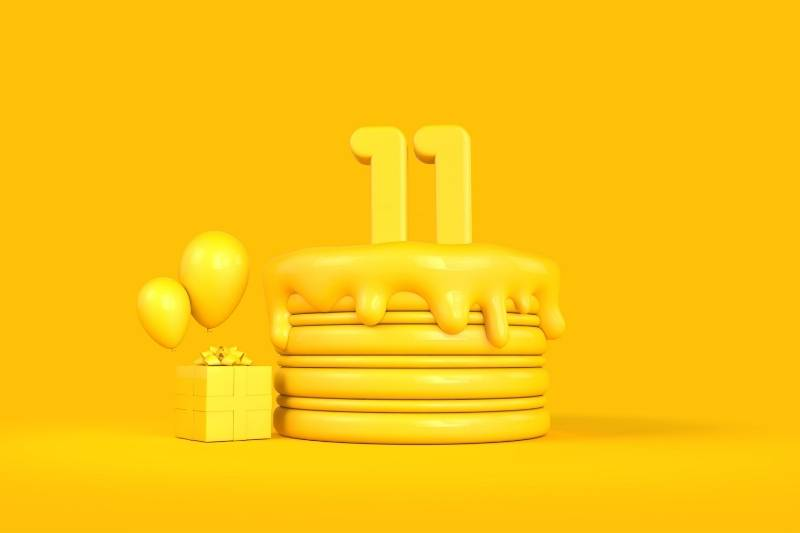 Happy 11th Birthday Wishes for Cousin
