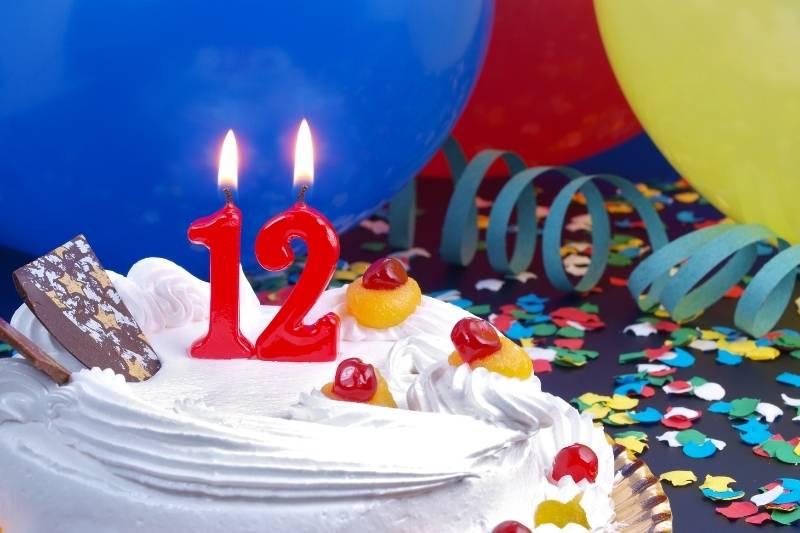 Happy 12th Birthday Images - 1