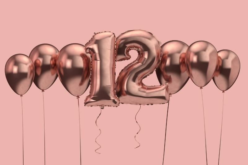 Happy 12th Birthday Images - 2
