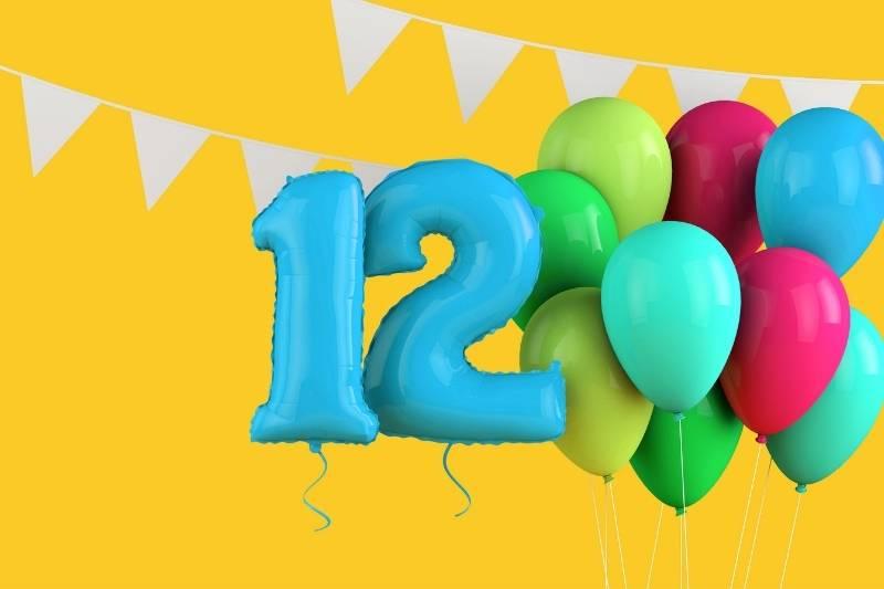 Happy 12th Birthday Images - 6