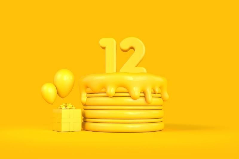 Happy 12th Birthday Images - 7