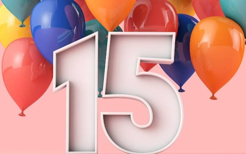 Happy 15 Birthday Images - 13