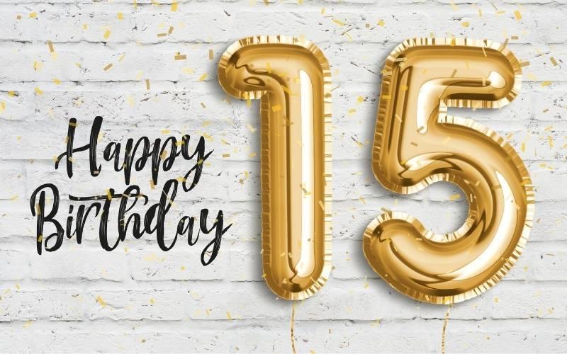 Happy 15 Birthday Images - 14
