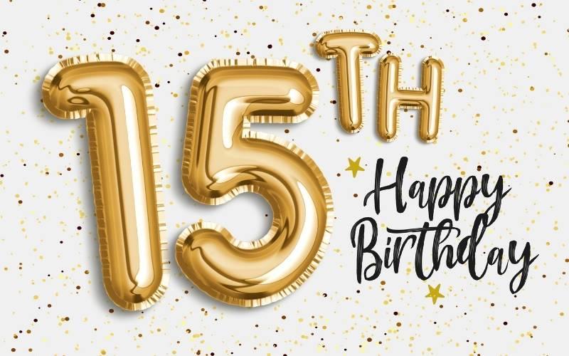 Happy 15 Birthday Images - 7