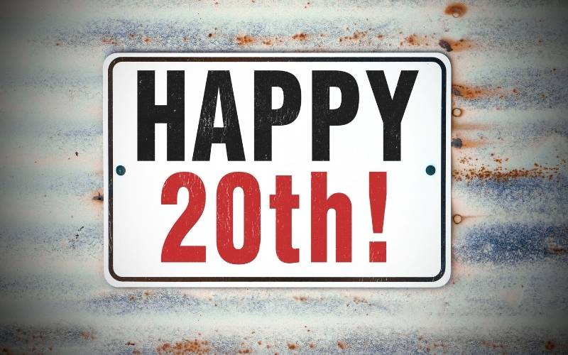 Happy 20Th Birthday Images Free Download 2021
