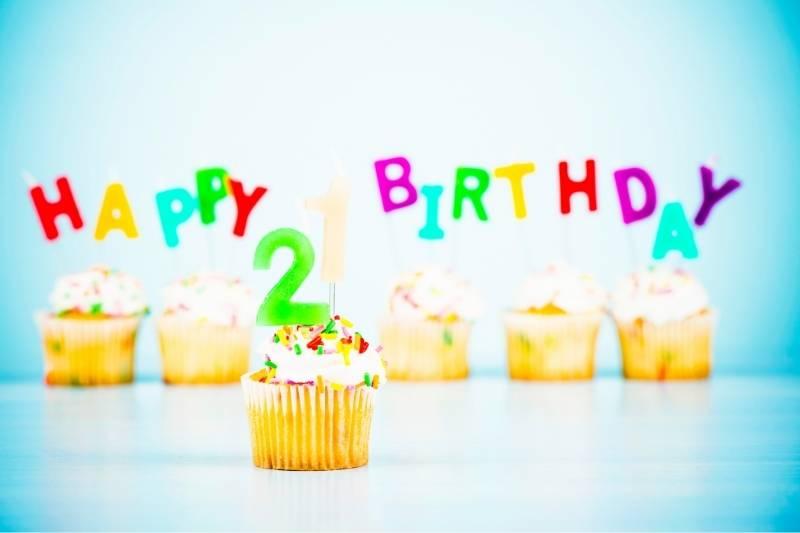 Happy 21st Birthday Message
