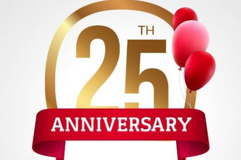 Happy 25Th Anniversary Images Free Download 2021