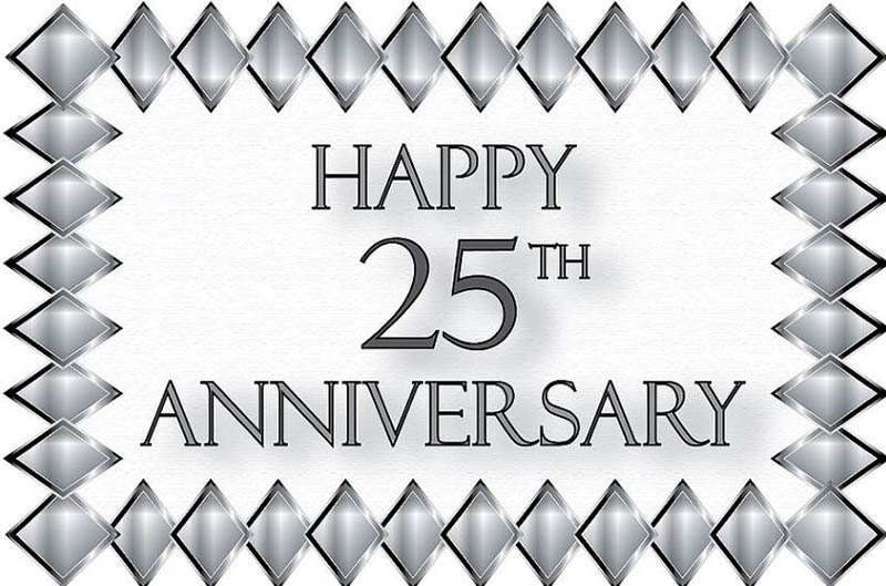 Happy 25th Anniversary Images - 25