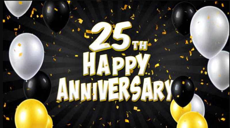 Happy 25th Anniversary Images - 27
