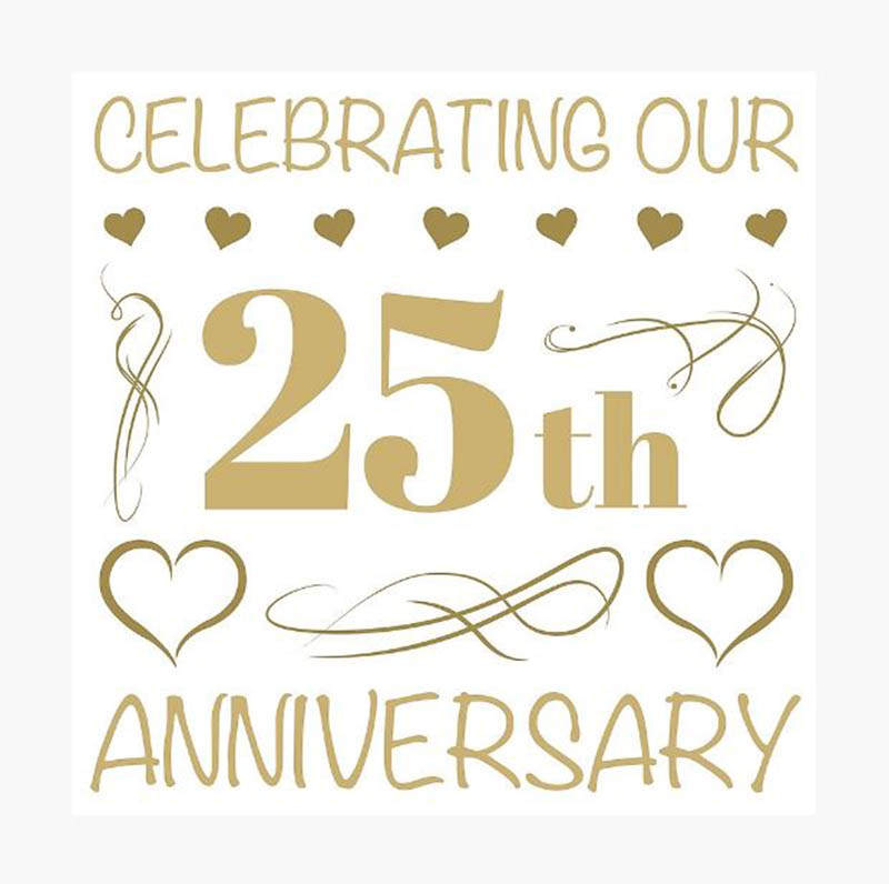 Happy 25th Anniversary Images - 35
