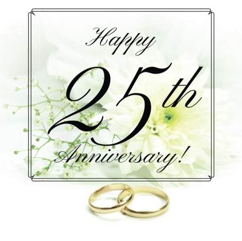 Happy 25th Anniversary Images - 47
