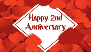 Happy 2Nd Anniversary Image Free Download 2021