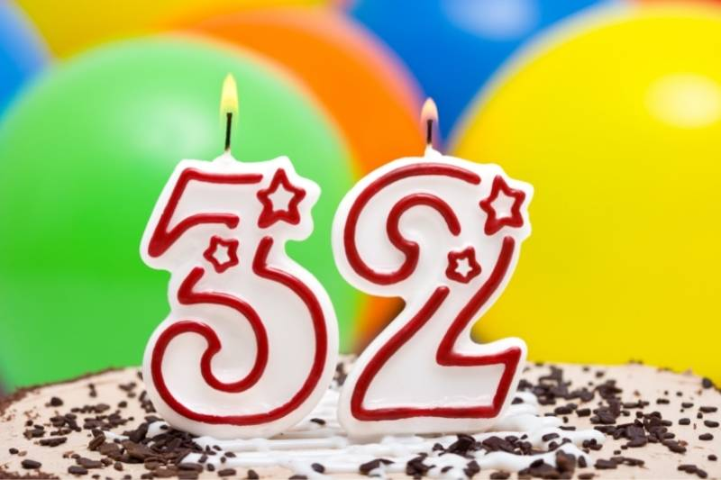 Happy 32Nd Birthday Images Free Download 2021