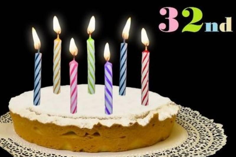 Happy 32nd Birthday Wishes