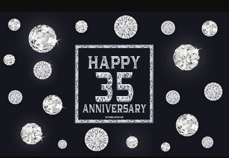 Happy 35th Wedding Anniversary Images - 42