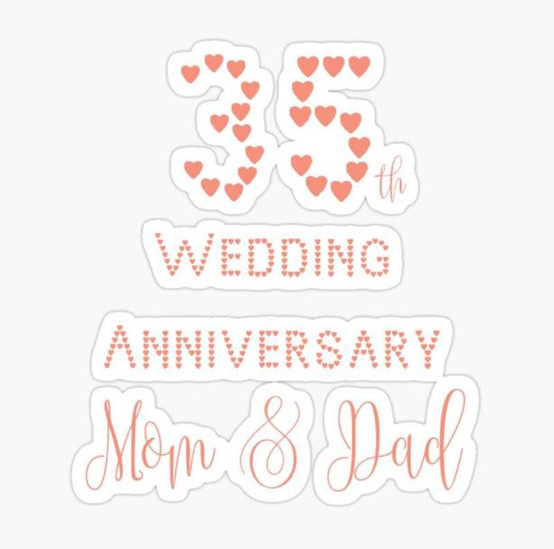 Happy 35th Wedding Anniversary Images - 44
