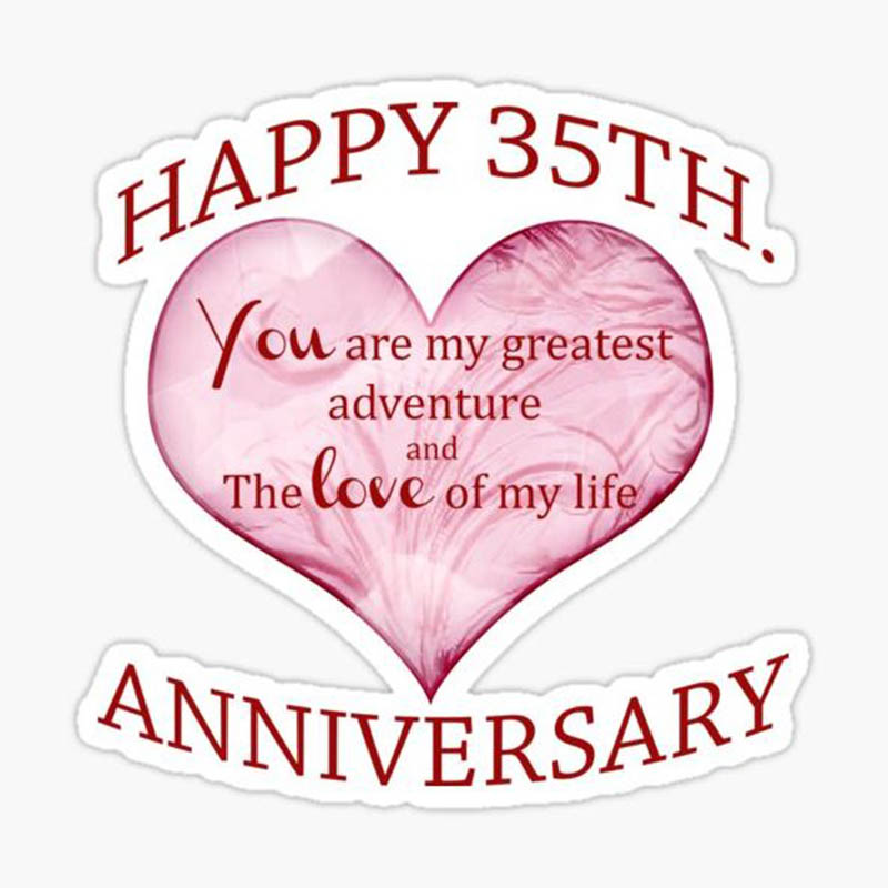 Happy 35th Wedding Anniversary Images - 48