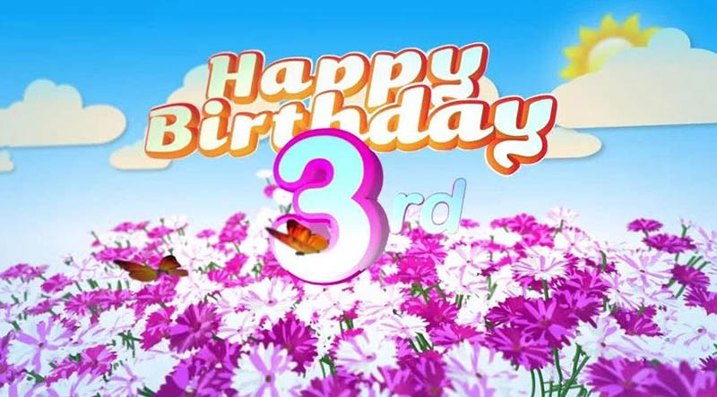 Happy 3Rd Birthday Images Free Download 2021