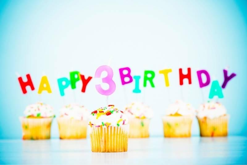 Happy 3rd Birthday Images - 1