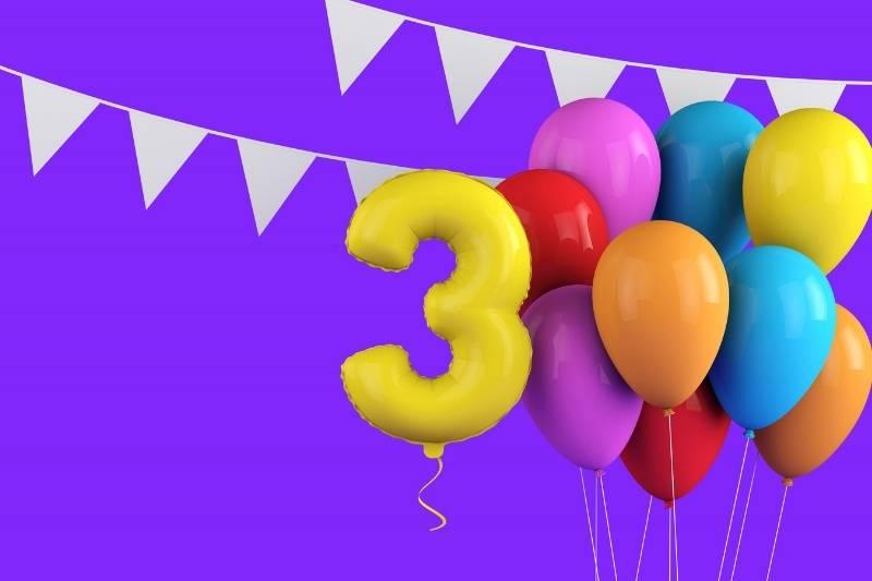 Happy 3rd Birthday Images - 12