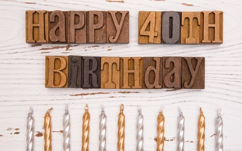 Happy 40Th Birthday Images Free Download 2021