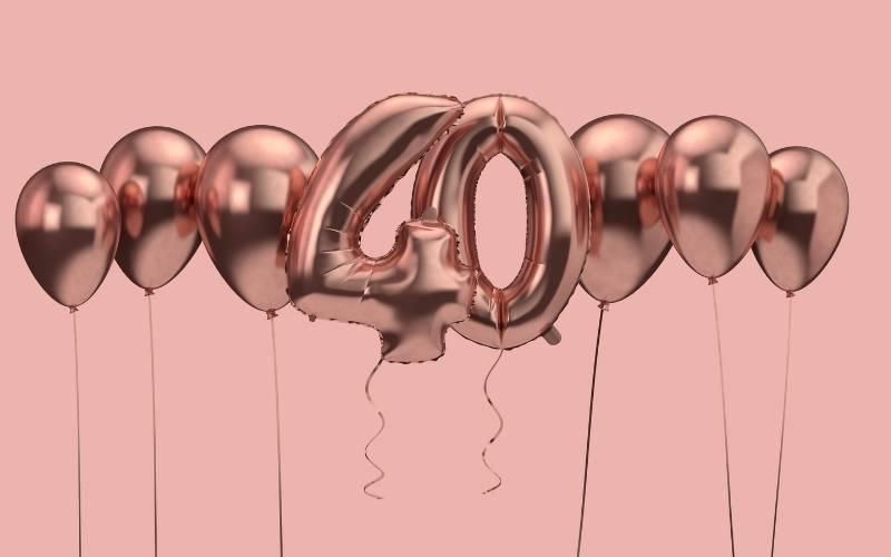 Happy 40th Birthday Images - 1