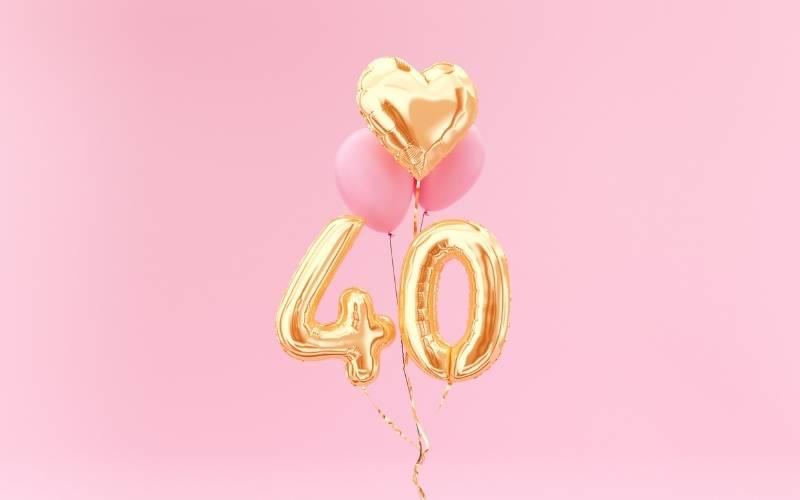 Happy 40th Birthday Images - 2