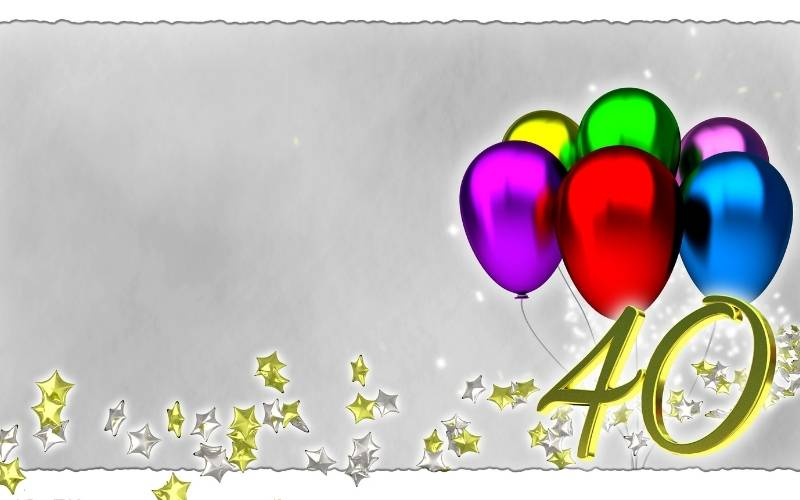 Happy 40th Birthday Images - 8