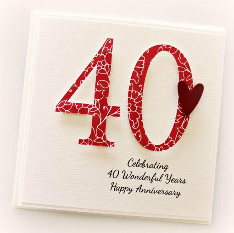 Happy 40th Wedding Anniversary Images - 15