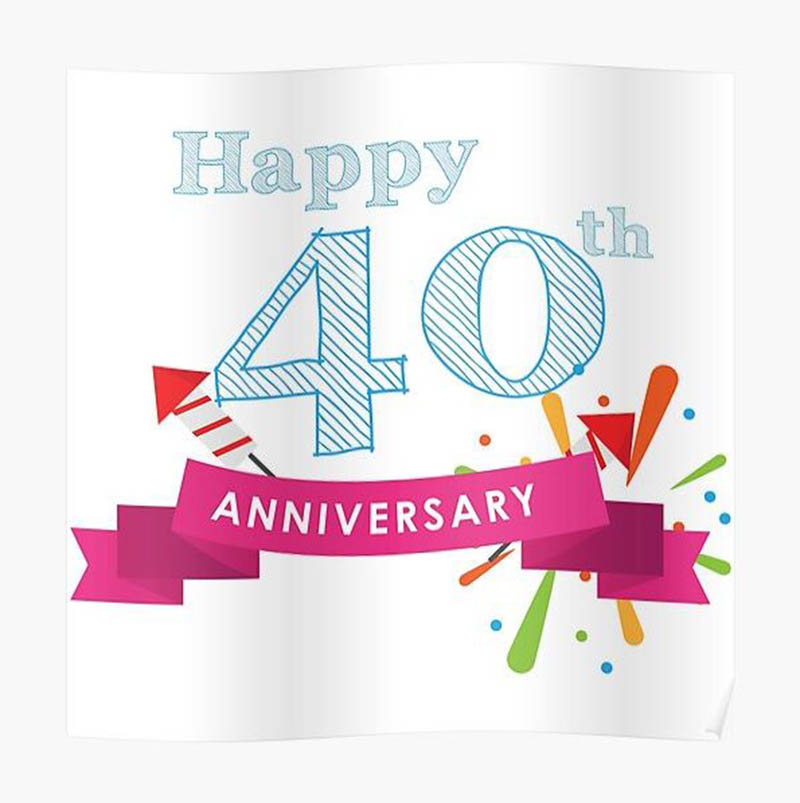 Happy 40th Wedding Anniversary Images - 16