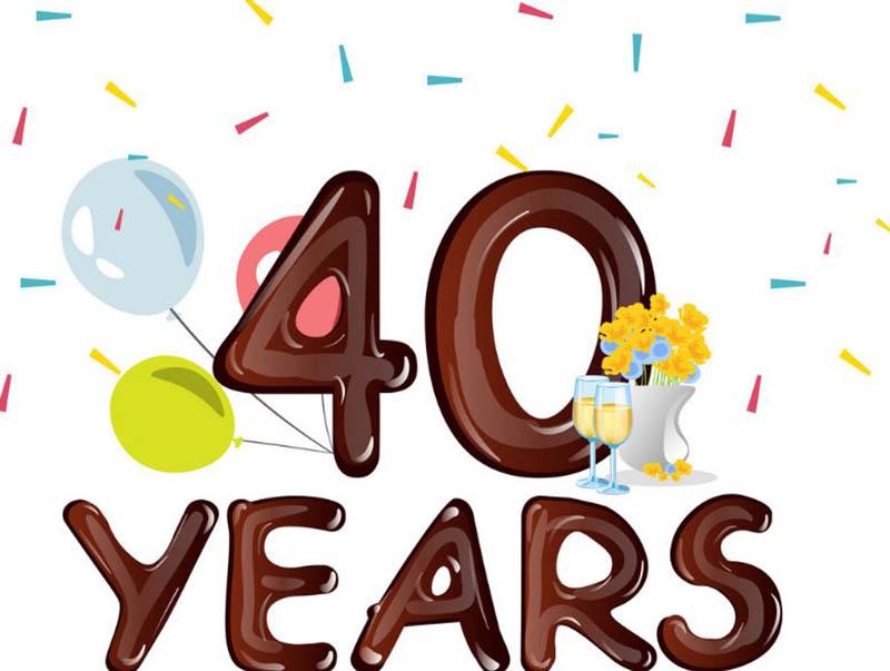 Happy 40th Wedding Anniversary Images - 19
