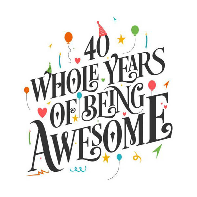 Happy 40th Wedding Anniversary Images - 2