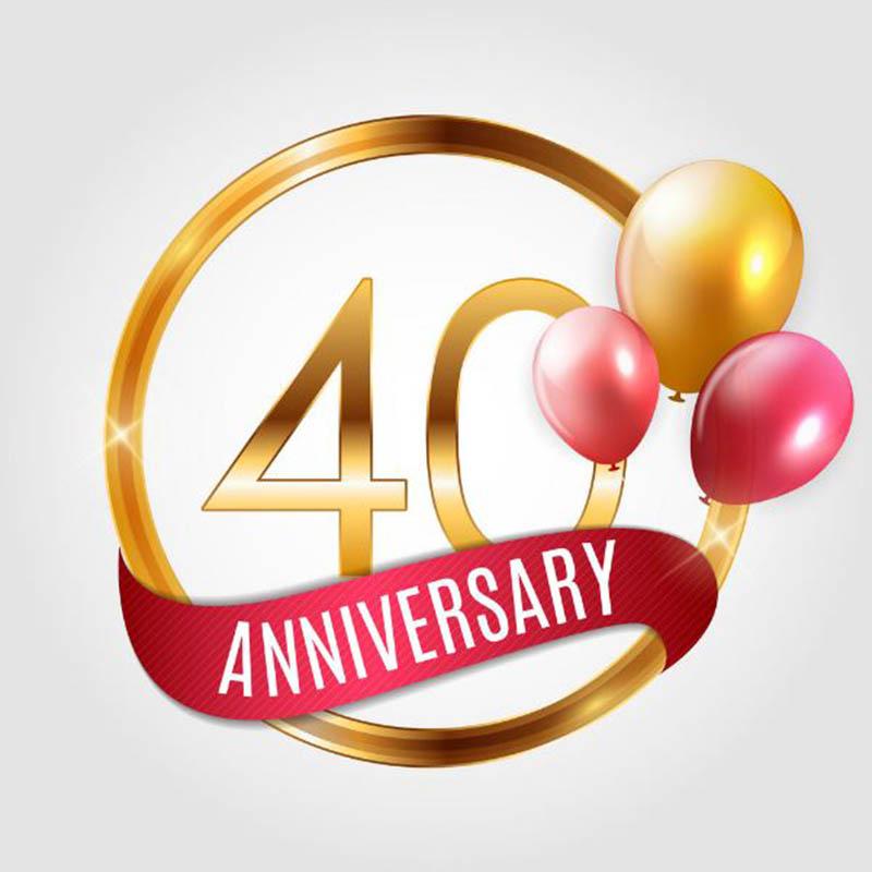 Happy 40th Wedding Anniversary Images - 20