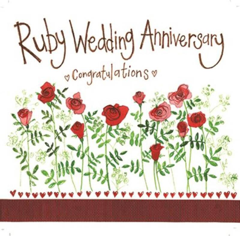 Happy 40th Wedding Anniversary Images - 21