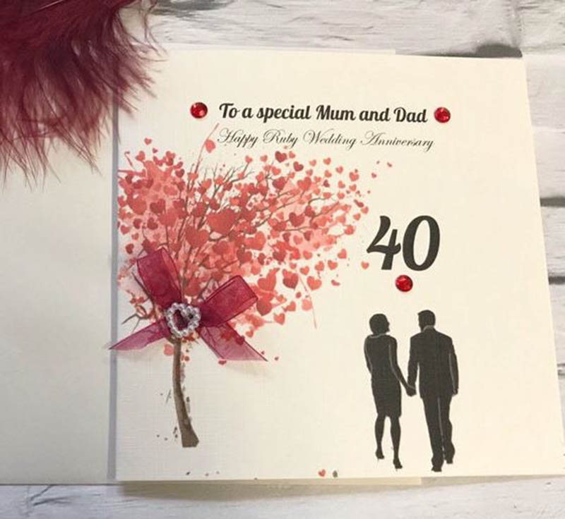 Happy 40th Wedding Anniversary Images - 24