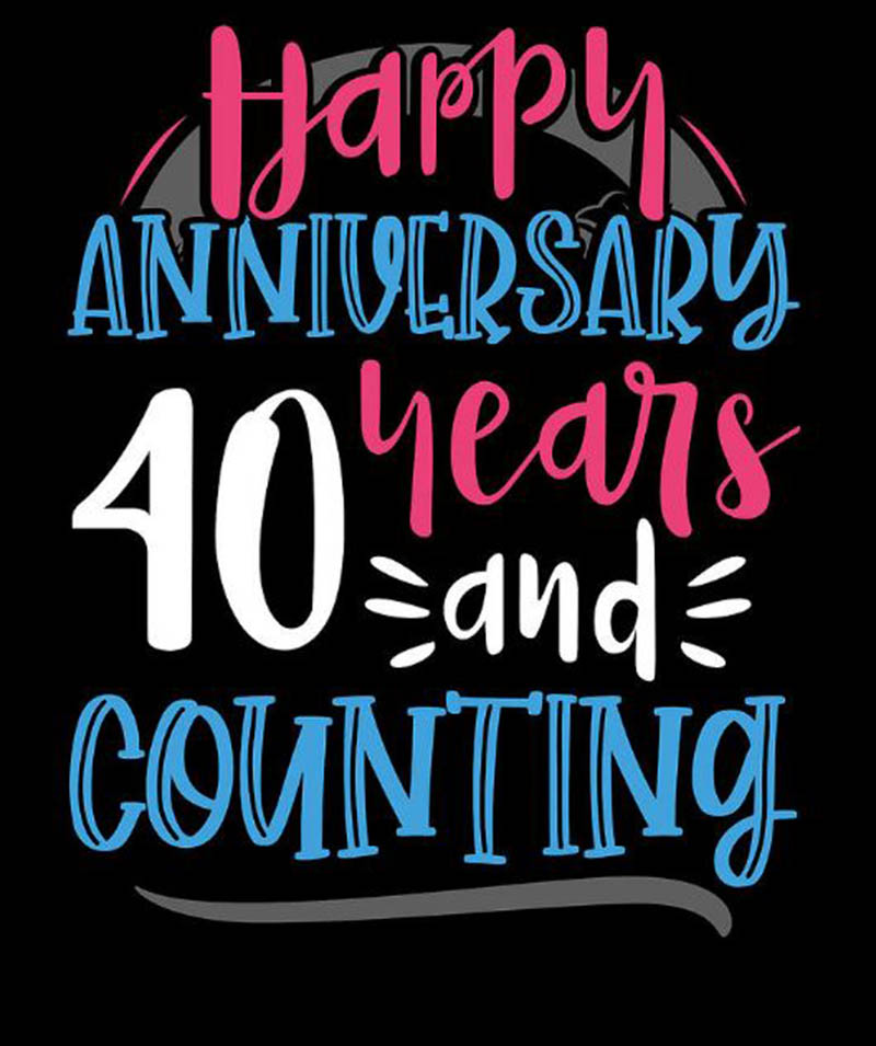 Happy 40th Wedding Anniversary Images - 25