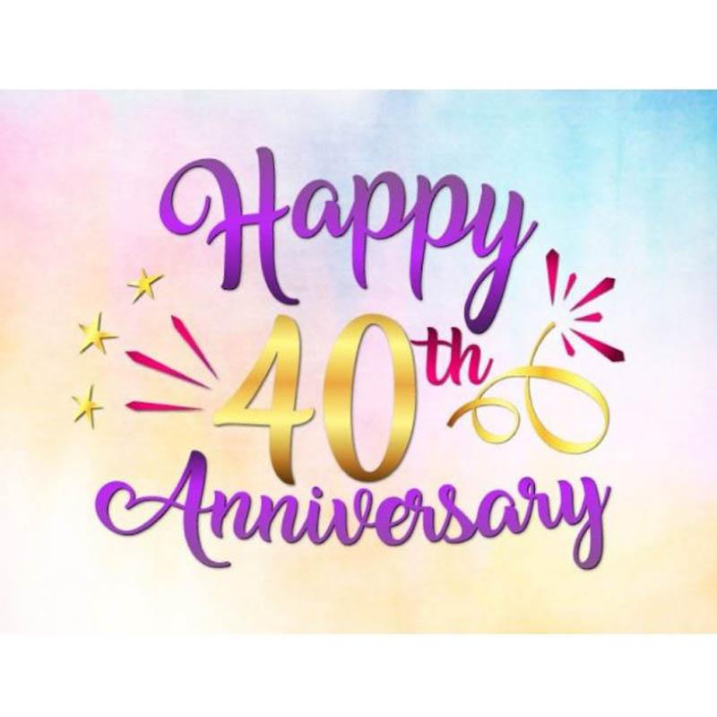 Happy 40th Wedding Anniversary Images - 29