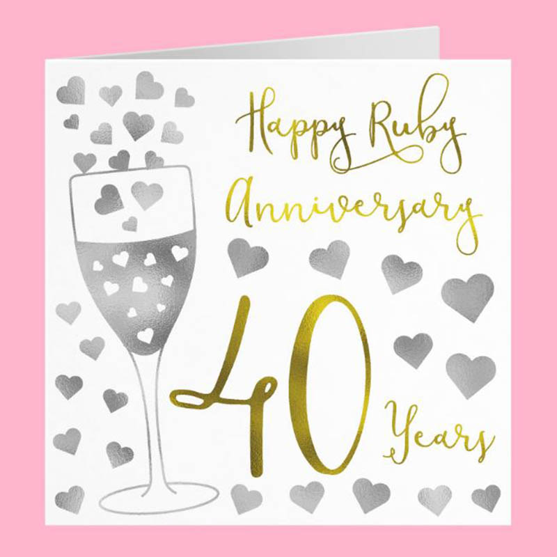 Happy 40th Wedding Anniversary Images - 32