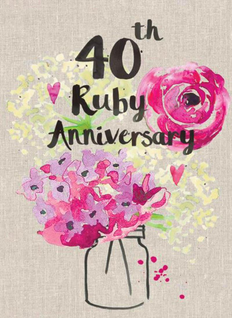 Happy 40th Wedding Anniversary Images - 37
