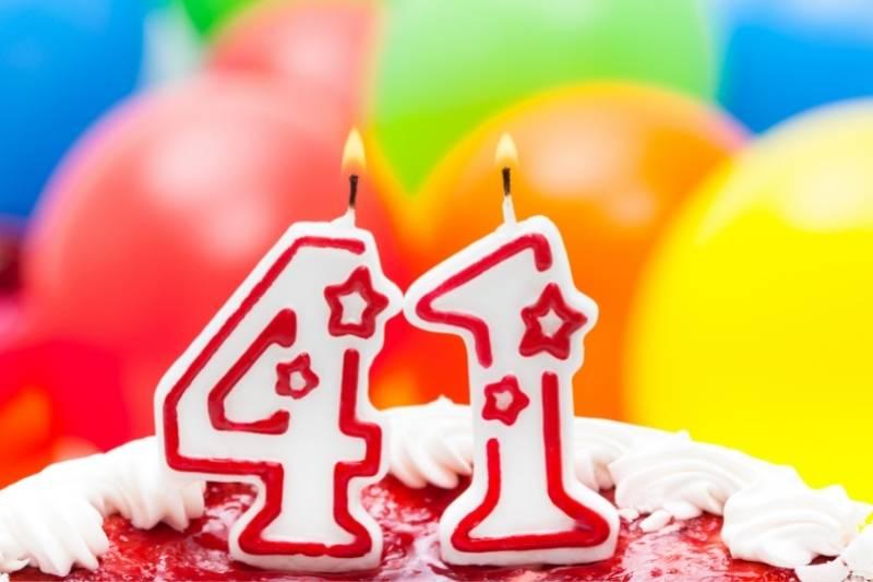 Happy 41 Birthday Images - 15