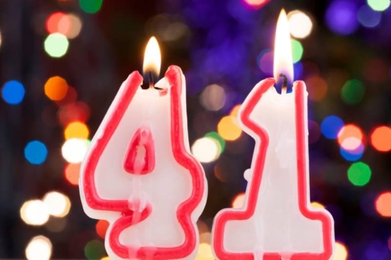 Happy 41 Birthday Images - 16
