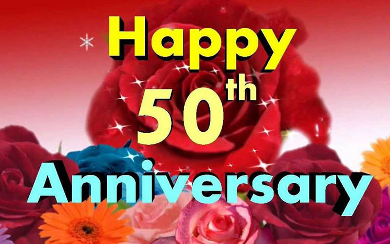 Happy 50th Anniversary Images - 5