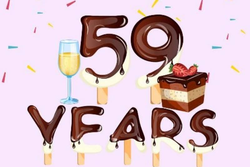 Happy 59th Birthday Wishes