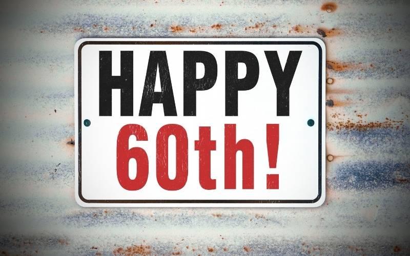 Happy 60th Birthday Images - 1