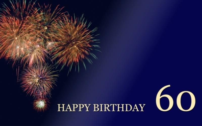 Happy 60th Birthday Images - 10