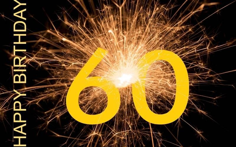 Happy 60th Birthday Images - 12